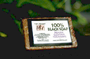 Independence Day Special - 6  Black Soap Bars $15.00