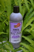 Body Wash (Lavender Scented) Black Soap