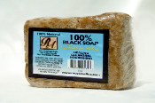 100% African Black Soap (100%) w/ Cucumber-Melon 5 oz