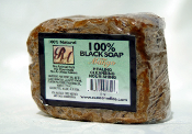 100% African Black Soap w/ Mango 5 oz