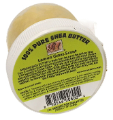 Travel Size 100% Pure Shea Butter Whipped Lemongrass 2 oz