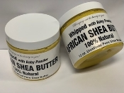 100% Pure Shea Butter 12 oz Whipped -Leak Proof