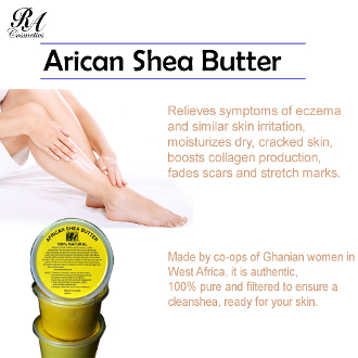 Summer Promotion - 5 x 16 oz Pack Shea Butter