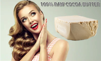 100% Raw Cocoa Butter  5 lb